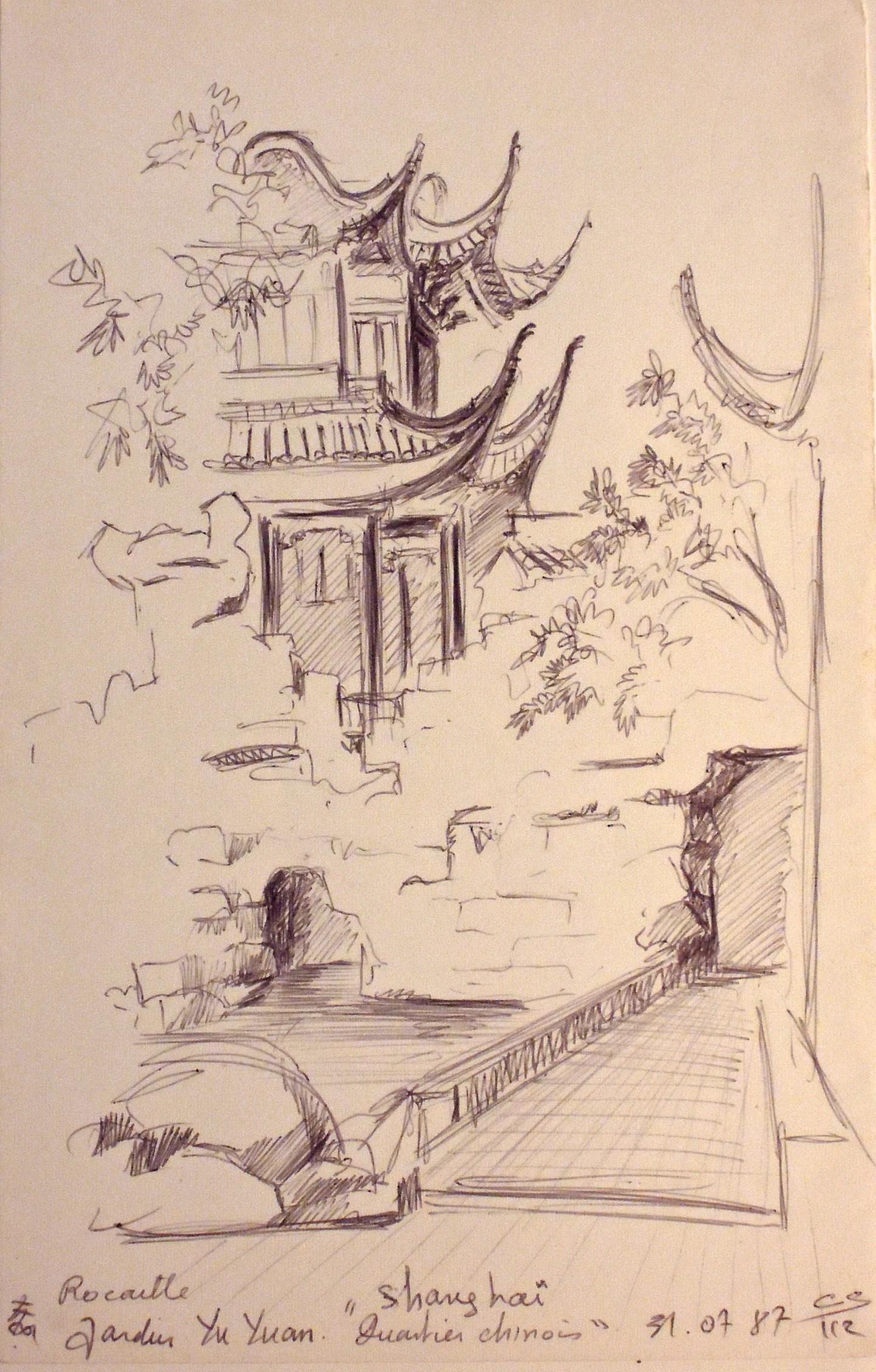 Christiane Seguin - jardin Yu Yuan