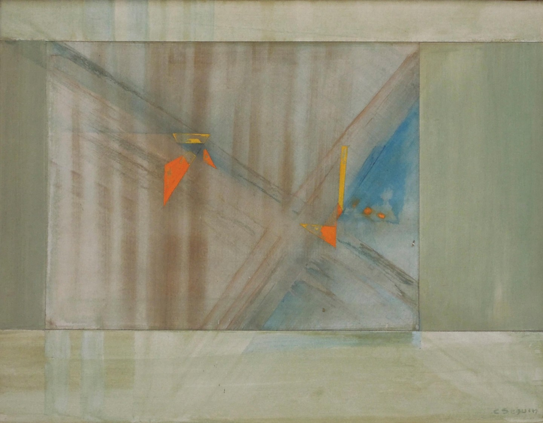Christiane Seguin - Fenêtre du Visible