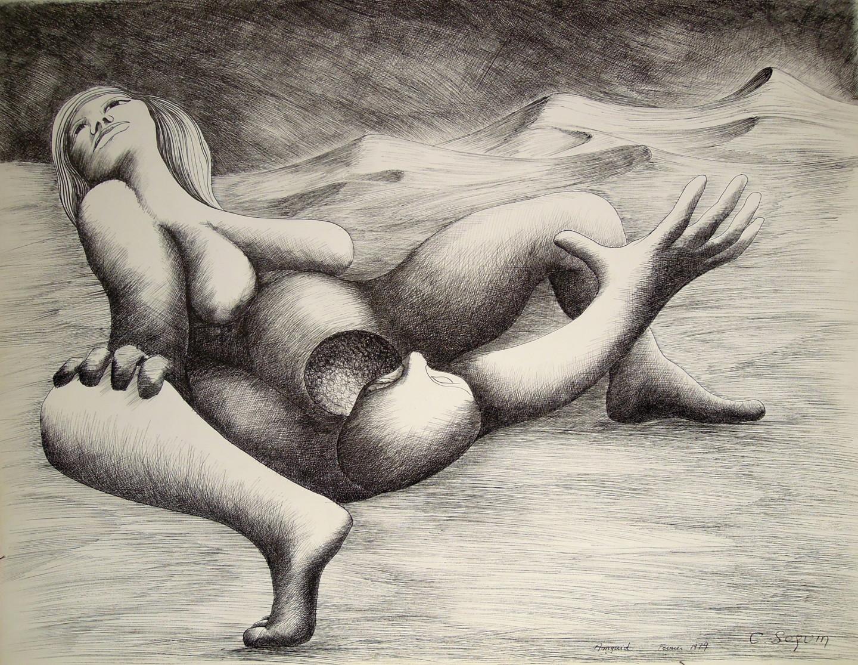 Christiane Seguin - Amguid les Dunes