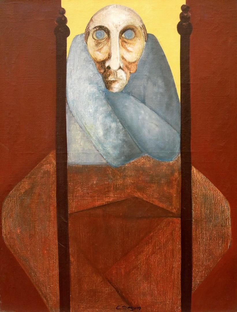 Christiane Seguin - Homme assis
