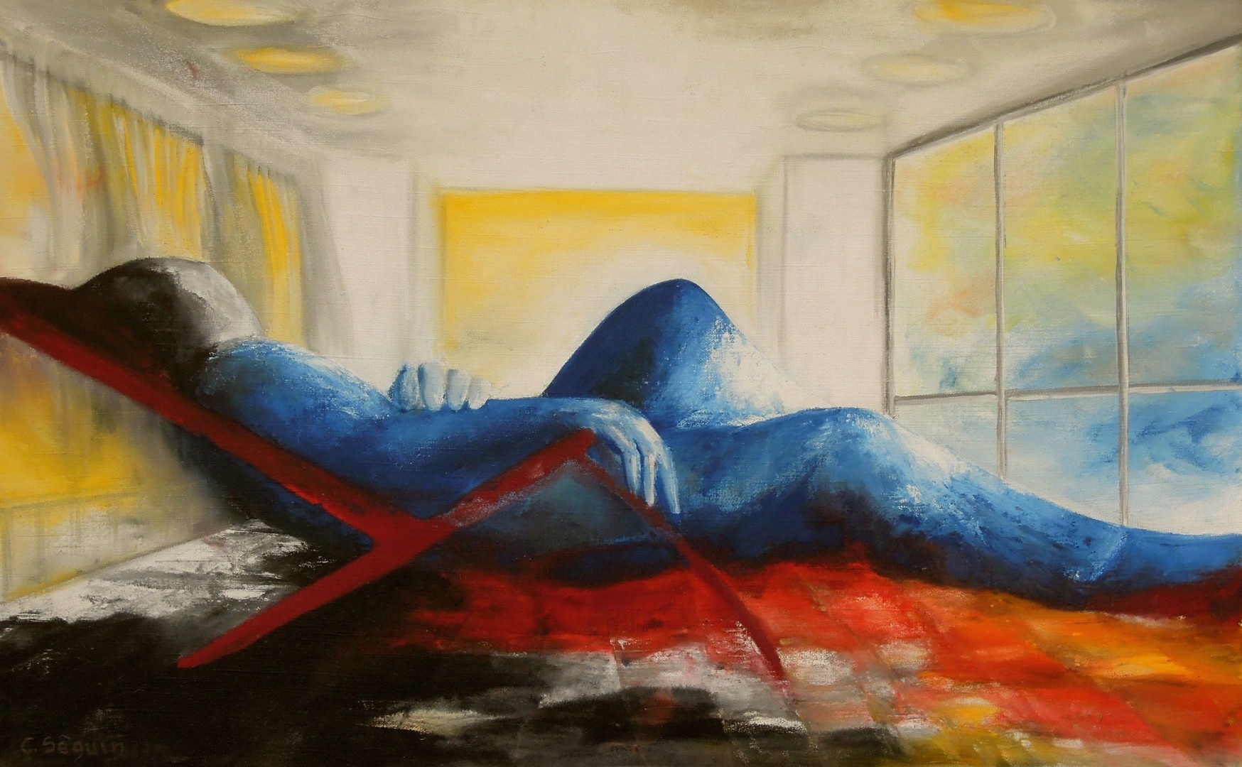 christiane seguin - chaise longue