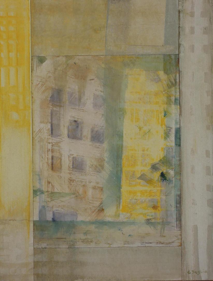 Christiane Seguin - Ruines Quadrillées
