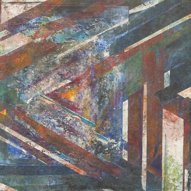 christiane seguin - Triangle Symétrie 3.