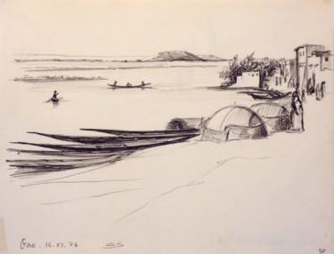 Pirogues sur le Niger