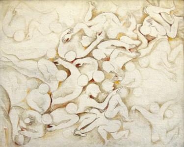 Peinture, acrylique, figuratif, œuvre d'art par Christiane Seguin